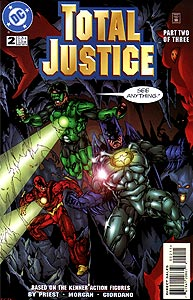 Total Justice, Vol. 1, #2. Image © DC Comics