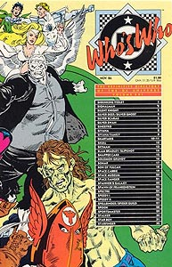 Who's Who: The Definitive Directory of the DC Universe 21.  Image Copyright DC Comics