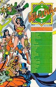 Who's Who: The Definitive Directory of the DC Universe 26.  Image Copyright DC Comics