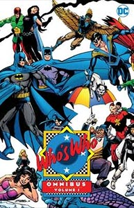 Who's Who Omnibus, Vol. 1, #1. Image © DC Comics