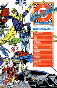 Who's Who Update '87 1.  Image Copyright DC Comics