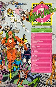 Who's Who Update '87 2.  Image Copyright DC Comics