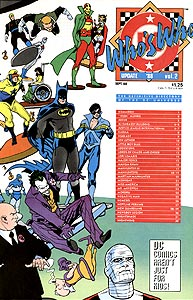 Who's Who Update '88 2.  Image Copyright DC Comics