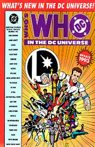 Who's Who in the DC Universe Update 1993, Vol. 1, #1. Image © DC Comics