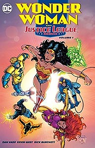 Wonder Woman and the Justice League America, Vol. 1, #1. Image © DC Comics
