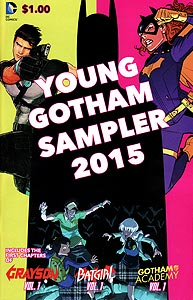 Young Gotham Sampler, Vol. 1, #1. Image © DC Comics