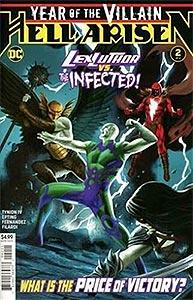 Year of the Villain: Hell Arisen, Vol. 1, #2. Image © DC Comics