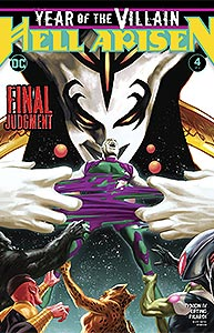 Year of the Villain: Hell Arisen, Vol. 1, #4. Image © DC Comics