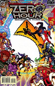 Zero Hour, Vol. 1, #2. Image © DC Comics