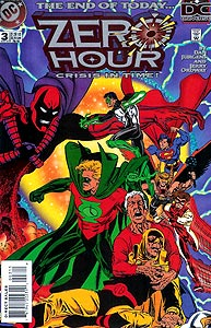 Zero Hour, Vol. 1, #3. Image © DC Comics