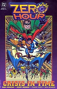 Zero Hour: Crisis in Time, Vol. 1, #1. Image © DC Comics