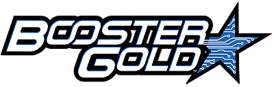 Booster Gold logo Vol 2 by Rob Leigh for DC Comics.