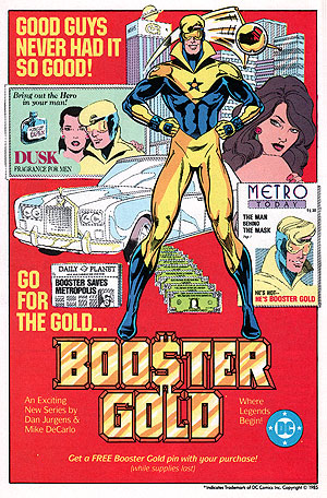 DC Introduces Booster Gold