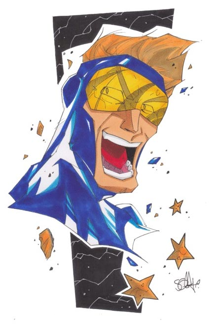 Booster Gold by 2hotty7 via deviantart.com