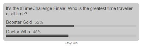 #TimeChallenge poll
