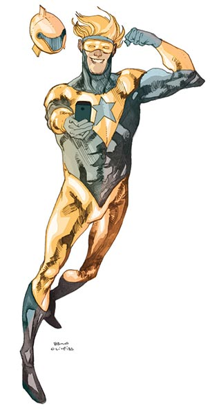 Booster Gold by bbrunoliveira