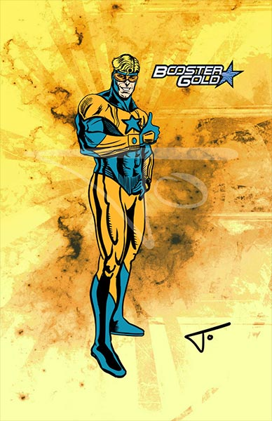 Booster Gold by Jose Luis Moelstina