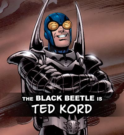 The Black Beetle probably isn't Ted Kord
