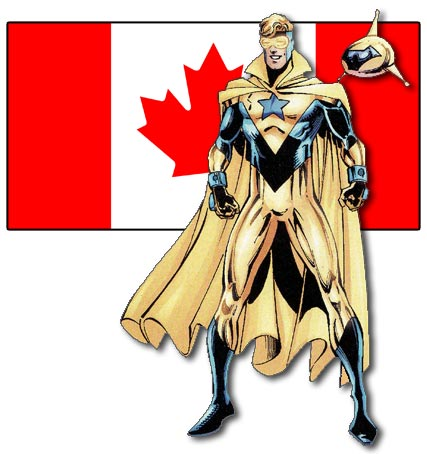 Booster Gold, Canadian