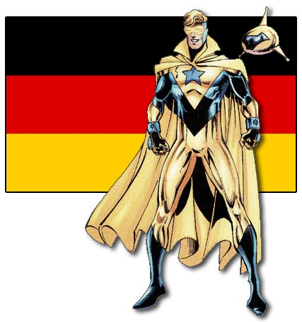 Booster Gold, German
