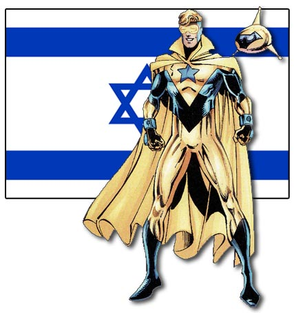 Booster Gold, Israeli