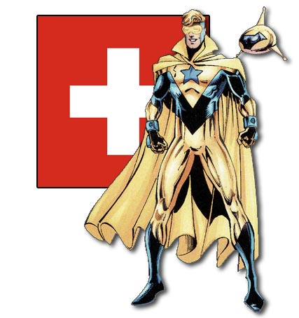 Booster Gold, Swiss