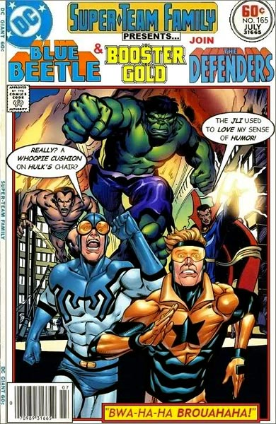 Super-Team Family Presents #165 (Blue Beetle & Booster Gold & The Defenders)