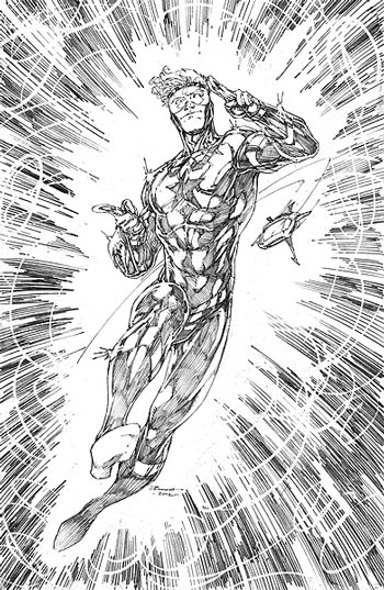 Booster Gold by Brett Booth