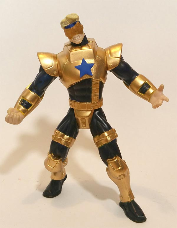 custom Booster Gold figure by Caenman