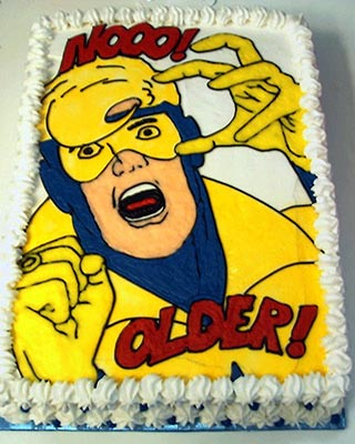 Boosterrific Blog Happy Birthday Booster Gold
