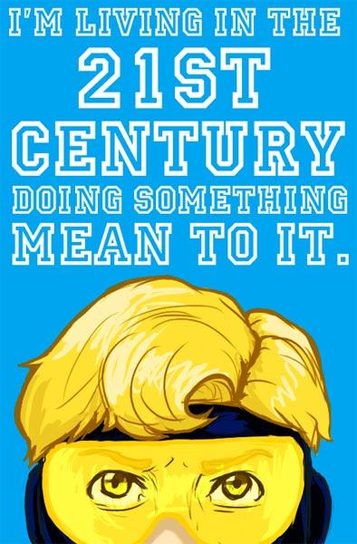 Kanye Plus Comics: Booster Gold by Captain Senator