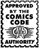 Comics Code Authority Stamp of Approval