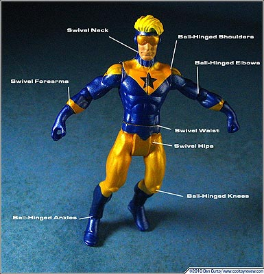 DC Universe Infinite Heroes Booster Gold by Dan Cuto of cooltoyreview.com