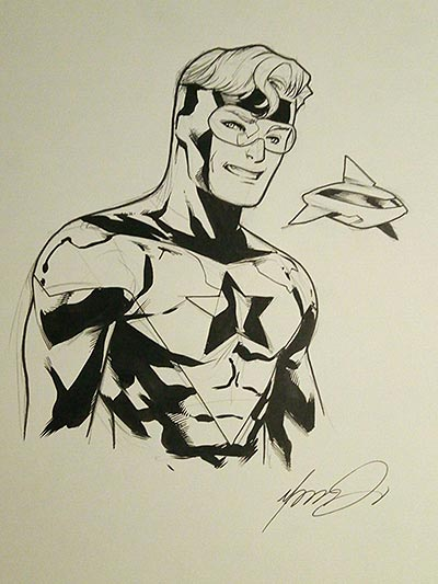 Booster Gold by Marcus To