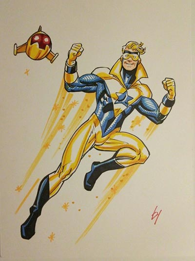 Booster Gold by Ty Templeton
