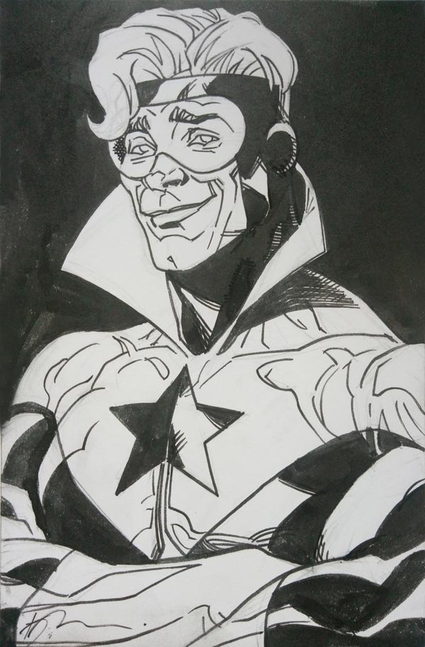 Booster Gold by Kalman Andrasofsky for Cort Carpenter