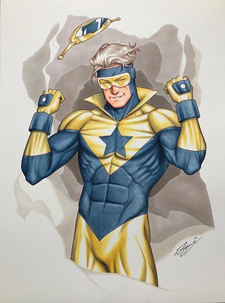 Booster Gold by Sam Basri for Cort Carpenter