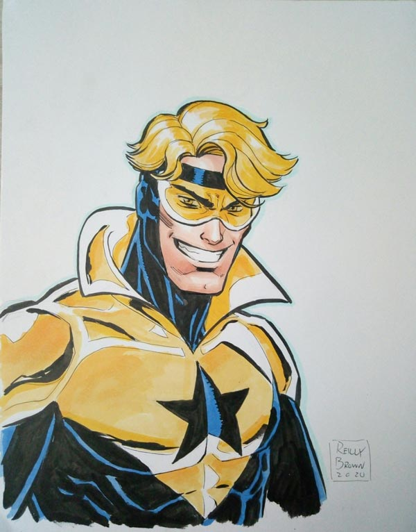 Booster Gold by Reilly Brown for Cort Carpenter