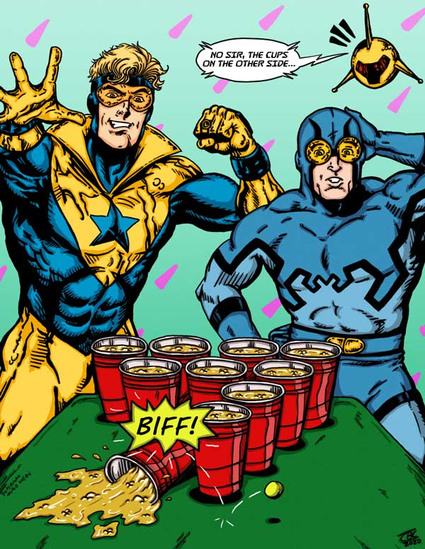 Booster Gold by Cort Carpenter for Cort Carpenter