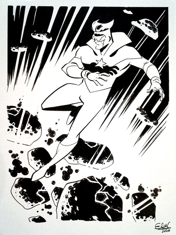 Booster Gold by Elsa Charretier for Cort Carpenter