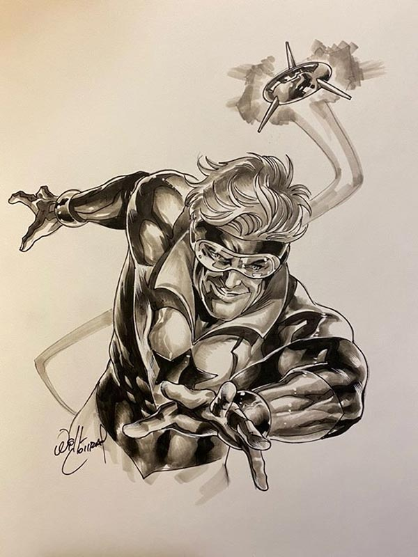 Booster Gold by Will Conrad for Cort Carpenter