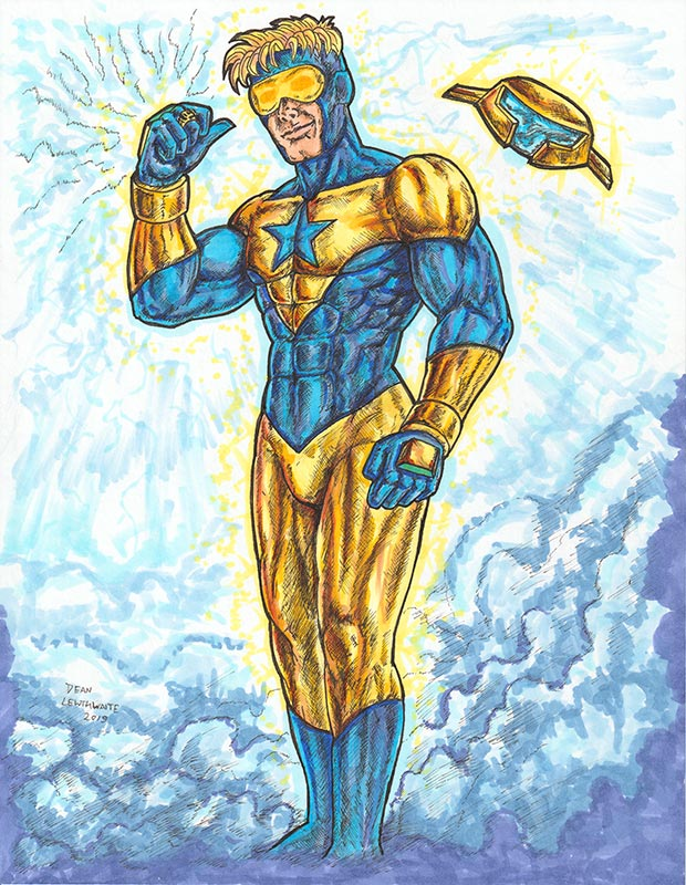 Booster Gold by Deaner L