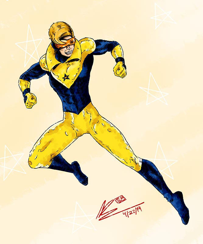 Booster Gold by mangonisium