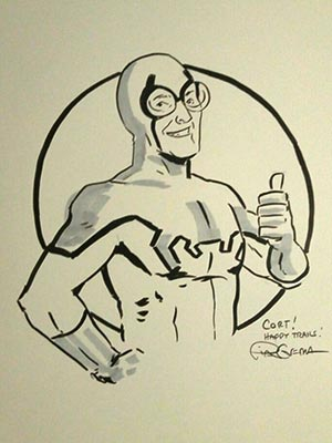 Blue Beetle by Pia Guerra