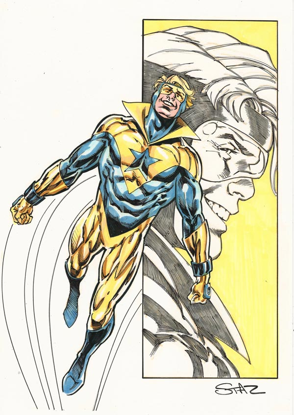 Booster Gold by Staz Johnson for Cort Carpenter