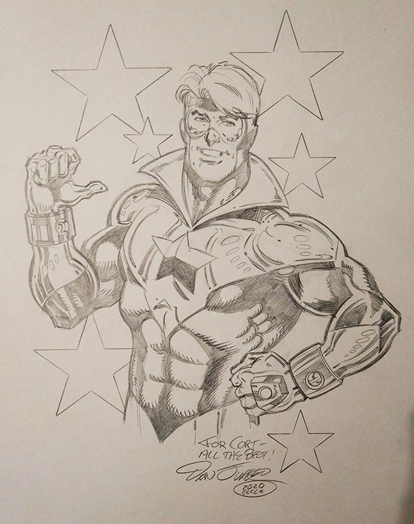 Booster Gold by Dan Jurgens