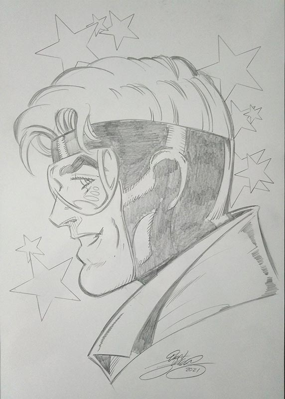 Booster Gold by Dan Jurgens for Cort Carpenter