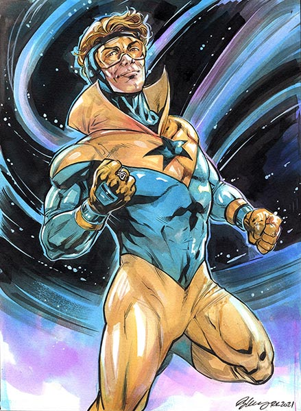 Booster Gold by Ryan Kelly for Cort Carpenter