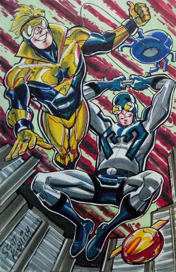 Booster Gold by Scott Koblish for Cort Carpenter
