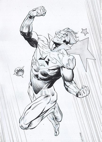 Booster Gold by Sid Kotian for Cort Carpenter